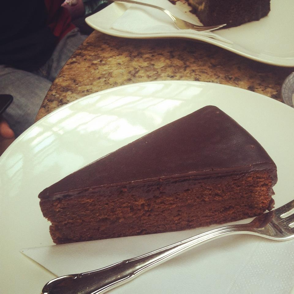 sachertorte - marriot